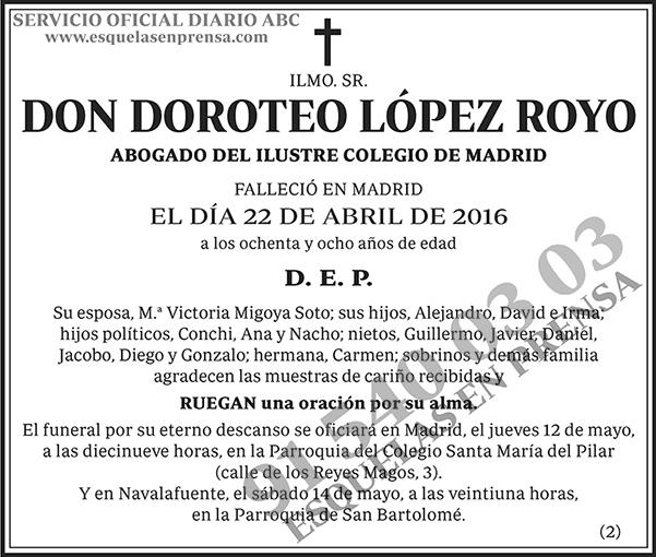 Doroteo López Royo